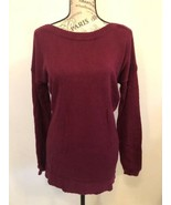 OLD NAVY women's legging sweater, red wine, size M - $8.99