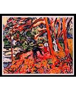 Maurice Vlaminck 1942 Gravure Print. colourful celebration of COOL Rare ... - $189.00
