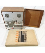 Akai X-1800SD Reel To Reel 8 Track Tape Recorder Not Working For Parts O... - $173.24
