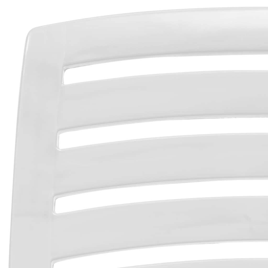 vidaXL 4x Folding Beach Chairs Plastic Beach Seat Outdoor Chair Multi Colors image 5