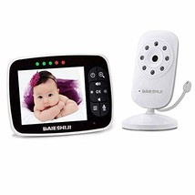 Video Baby Monitor, Baby Monitor Digital Camera with 3.5 inch Large Scre... - $102.49
