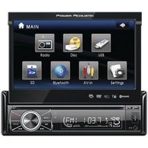 "Power Acoustik 7"" Single-din In-dash Motorized Touchscreen Lcd Dvd Receiver - $210.75"