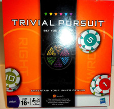 Trivial Pursuit: Bet You Know it (Hasbro, 2009) Brand New & Sealed - $18.36