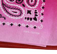 "12 Pack Gradient Rainbow Cotton Head Wrap Scarf Bandana Ombre Colors 22"" X 22"" image 3"