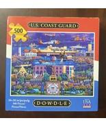 "Dowdle Folkart ""U.S. Coast Guard"" 500 Piece Jigsaw Puzzle  - $17.33"