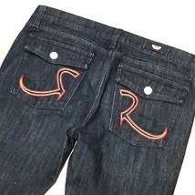 ROCK & REPUBLIC Flap Pocket JEANS (31) Blue DENIM - $68.00