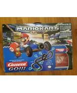 Carrera Go Nintendo Mario Kart 1:43 Scale Slot Racing Set MarioKart 62492 - $115.43