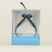 Aftershokz Trekz Titanium Bluetooth Sport Headphones (Ocean Blue) - $89.99