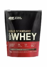 Optimum Nutrition Gold Standard 100% Whey Protein Double Rich Chocolate 1.5 Lb  - $29.92