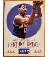 Wilt Chamberlain 2014-15 Panini Threads Century Greats #13 SF Warriors NBA - $6.00