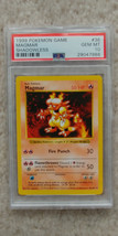 Pokemon Magmar 36/102 Shadowless Base Set PSA 10 1999 Pokemon TCG - $34.95