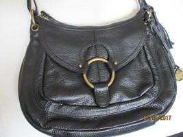 Vintage Born Black pebbled leather crossbody bag - $35.00