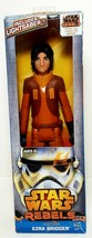 "New Star Wars Rebels Hero Series EZRA BRIDGER 12"" Figure Includes Lights... - $4.00"