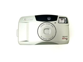 Canon Sure Shot 60 Zoom SAF 35mm Film Camera w/Canon Zoom Lens 38-60mm - $18.66