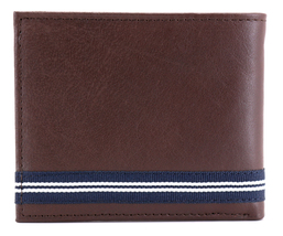Nautica Men's Genuine Leather Credit Card ID Double Billfold Passcase Wallet image 13