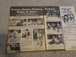 Kristy Mcnichol Jimmy Mcnichol teen magazine pinup clipping Ralph Macchio