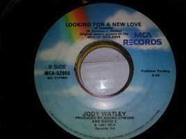 "JODY WATLEY - Looking For A New Love - 7"" Vinyl 45 record - $1.97"