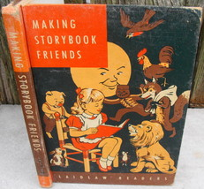 1961 Laidlaw Reader Childrens Book Making Storybook Friends HC Textbook - $18.00