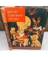 1961 Laidlaw Reader Childrens Book Making Storybook Friends HC Textbook - $18.00