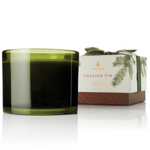 Thymes Frasier Fir 3-Wick Poured Candle 17 Oz, Designer Candle - $66.99
