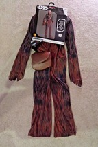 Star Wars Chewbacca Chewie Halloween Costume youth child kid sizes S / M... - $11.65+