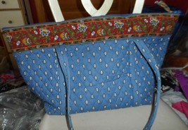 Vera Bradley Miller Tote Bag in Retired French Blue - $60.00