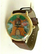 Ernie Keebler Tree House by Fossil Wrist Watch Leather Band - $79.99