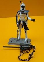 STAR WARS ™ Clone Troopper CAPTAIN REX Hunt for Grievous Clone Wars 2008 2 - $15.98