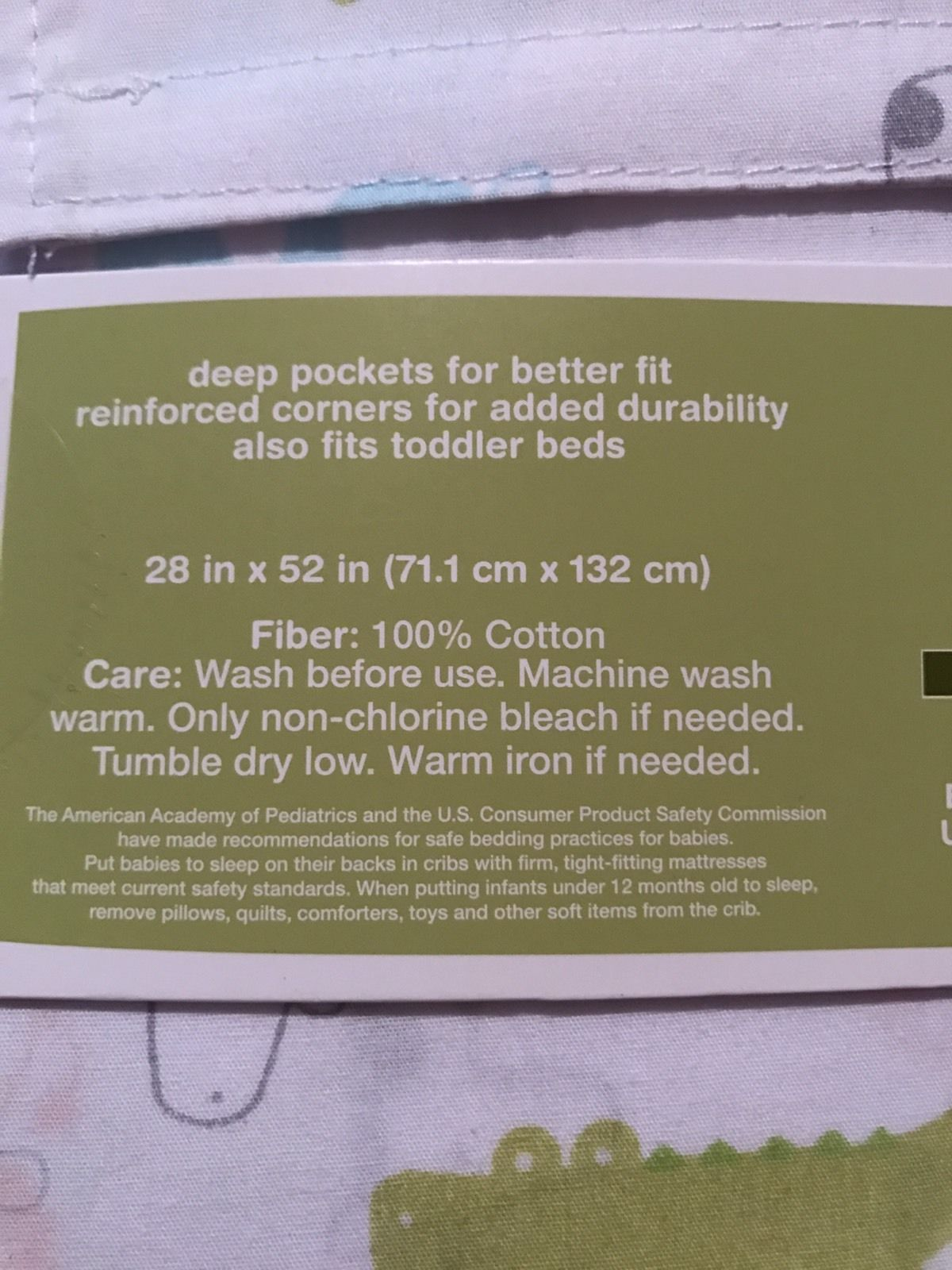 Circo Fitted Crib Sheet gray circles toddler bed sheet cotton new