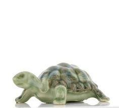 "Wade Whimsies Miniature Figurine Scarce 1960s Green Baby Tortoise 2"" Size"