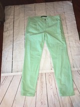 NeW Joe Joe's Ultra Slim Fit Green Corduroy jeans 31 Women's CHELSEA  Ankle - $57.69