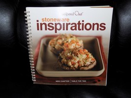 The Pampered Chef  Stoneware Inspirations Book - $16.60