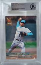 Trevor Hoffman Marlins Signed 1993 Ultra Baseball Card Beckett BAS Slabbed BGS - $145.49