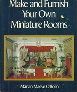 Make and Furnish Your Own Miniature Rooms-12 Rooms & Furnishings-Dollhou... - $13.95