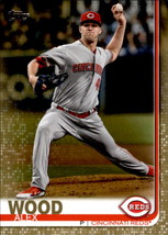 Alex Wood 2019 Topps Series 2 Gold Parallel Card #464 1534/2019 - $1.50