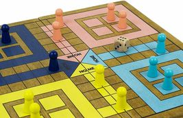 Pachisi - Traditional / Classic Wooden Family Board Game image 3