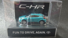 TOYOTA CHR LED Light Keychain Green PullBack Mini Car Not Sold in stores - $24.95
