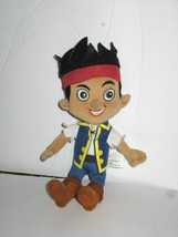 "Disney Just Play Jake and the Neverland Pirates Plush Soft Boy Doll 8"" B... - $8.81"