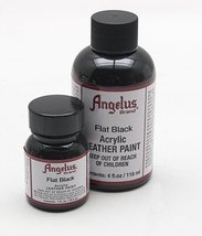 Angelus Leather Paint 4 Oz Black - $8.53