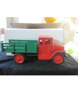 1920'S BUDDY L PRESSED STEEL BAGGAGE TRUCK RE-CREATION-NRMINT IN BOX - $495.00
