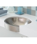 Native Trails C-CPS544 Calypso Hand Hammered Bathroom Sink in Brushed Ni... - $223.00