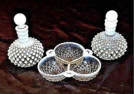 Milk Glassware AB 734 Vintage 3Pc image 4