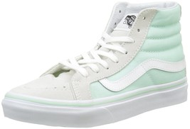 New Vans Unisex Sk8-Hi Slim Bay True White Skate Shoes Mens 3.5 - $49.95