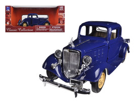 1933 Chevrolet 2 Passenger 5 Window Coupe Blue 1/32 Diecast Model Car by New Ray - $30.79