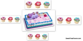 Shimmer and Shine Party CAKE Topper PLUS 12 Cupcake Decoration Birthday Genies* - $18.76