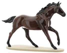 "Hagen-Renaker Miniature Ceramic Horse Figurine Thoroughbred ""Seabiscuit"" image 2"