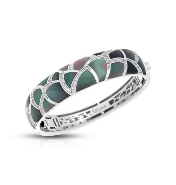 Primary image for Belle Etoile Black Mother-of-Pearl Sirena Medium Bangle