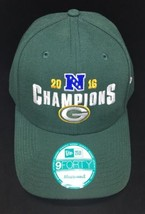 2016 New Era Snapback 9Forty Adjustable Hat NFL Green Bay Packers North Division - $14.03