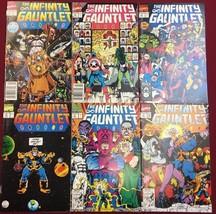 INFINITY GAUNTLET set (6) #1 #2 #3 #4 #5 #6 (19... - $98.99