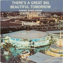 Disney's Carousel Of Progress Poster 24 X 24 Inches Looks Beautiful Nostalgia - $19.94